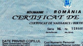 Înscrierea Certificatului de Nastere Spaniol la Consulatul României