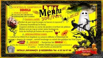 Petrecere la Crama Dracula – 31 Octombrie