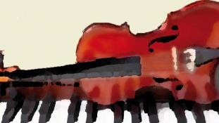 Concert de pian şi vioară – Ziua Naţională a României