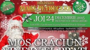 Seara Prichindeilor – de Moş Crăciun – Petrecere Românească – Joi, 24 Decembrie
