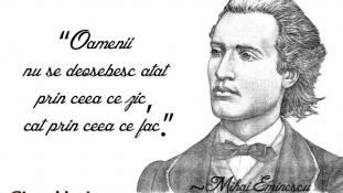 Picătura de cultură – Omagiu închinat geniului Mihai Eminescu