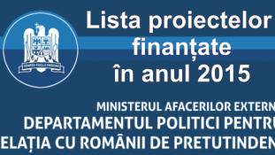 Bani pentru Diaspora 2015