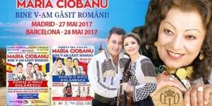 Maria Ciobanu si Ionut Dolanescu – concert Barcelona