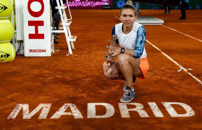 Simona Halep castiga turneul de la Madrid