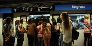 Greva la Metro Barcelona luni 19 Iunie