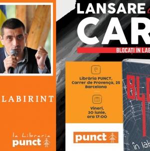 George Simion – 'Blocati in Labirint' – prezentare de carte la Barcelona