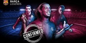 Ronaldinho îmbracă iar tricoul Barcelonei
