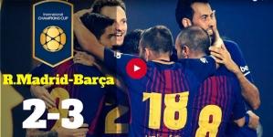 """FC Barcelona – Real Madrid: 3-2 în primul """"El Clasico"""" al sezonului desfășurat la Miami"""