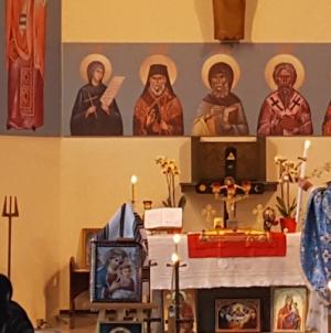 Manresa: Hram al bisericii Teodora de la Sihla celebrat duminică