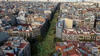 Un milion de catalani in mars de Ziua Catalunyei