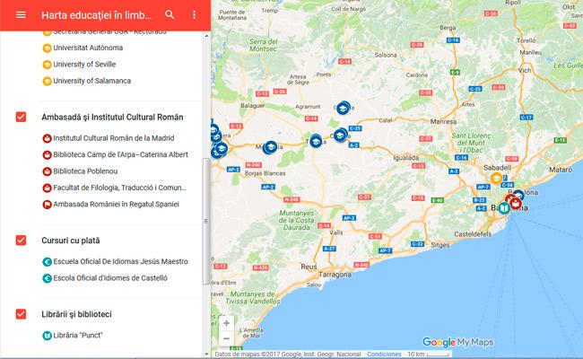 Librăria Punct Barcelona Pe Harta Educației In Limba Romană Din