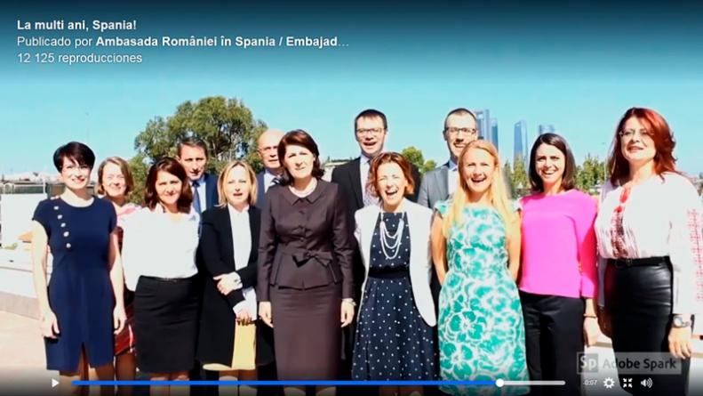 Spania: Ziua Nationala – Mesajul Ambasadei (video)