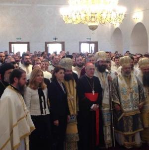 Catedrala Ortodoxă de la Madrid, sâmbătă 18 noiembrie 2017, prima Liturghie