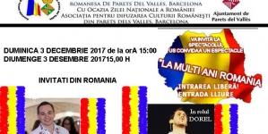 Parets del Valles / Barcelona – de Ziua Națională a României