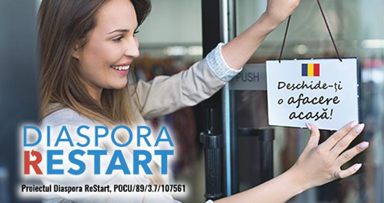 Diaspora ReStart – o oportunitate pentru intreprinzatori