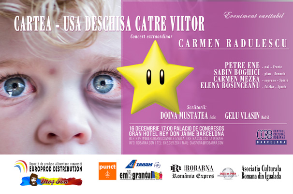 Gala 'Cartea – usa deschisa' Barcelona 16 dec 2017