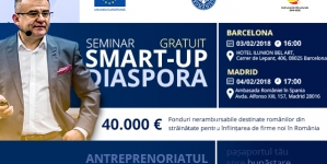 Smart-up Madrid 04 februarie 2018
