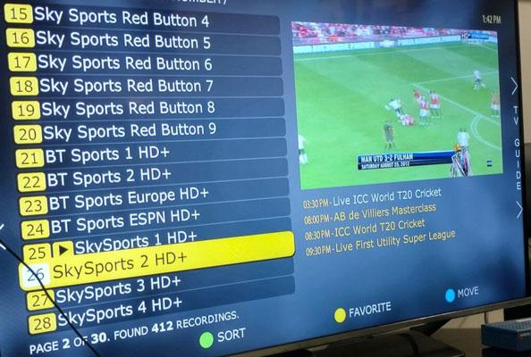 Poliția a închis o rețea IPTV care oferea ilegal o grilă de 1200 canale TV