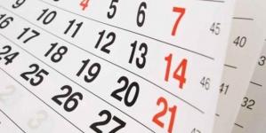 Calendar 2018: Va fi un an cu multe mini-concedii