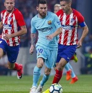 Cine dă Barcelona Atletico Madrid de astăzi?
