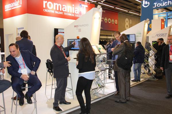 Industria IT românească – 13 firme prezente la  Mobile World Congress 2018, Barcelona