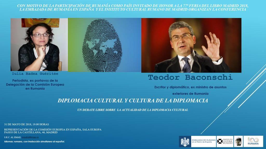 Conferința: Diplomația Culturală și Cultura Diplomației