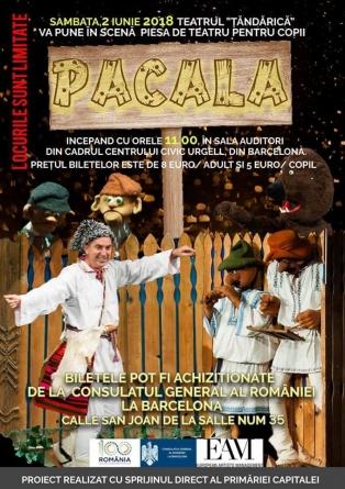 Pacala – Barcelona – Teatru de copii