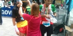 Levente Polgar și Mihai Sârbu au alergat 100k pentru Centenar