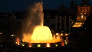 Fântâna Magică – un spectacol dedicat sărbătorilor / Barcelona