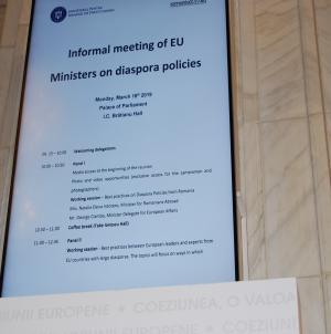 Inter-ministeriala pe tema diasporelor europene, București, 18 martie 2019