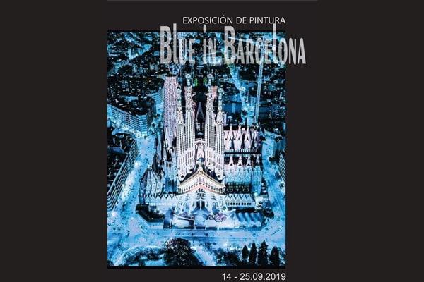 "Invitatie la vernisajul expozitiei ""Blue in Barcelona"""