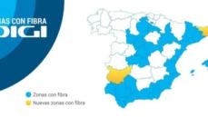 Girona si Badajoz au acces la fibra simetrica de internet de la DIGI