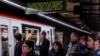 Metroul Barcelona în grevă
