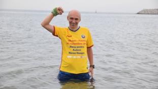 Un psiholog aleargă 100 de kilometri pentru un proiect destinat copiilor