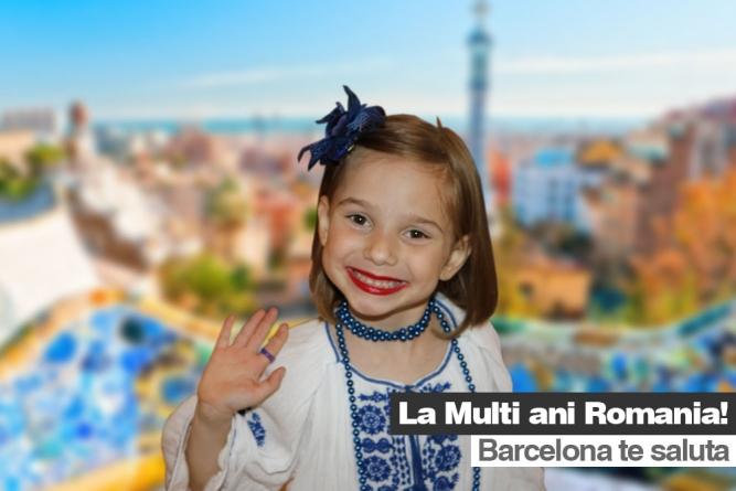 De Ziua Națională românii din Catalunya au sărbătorit