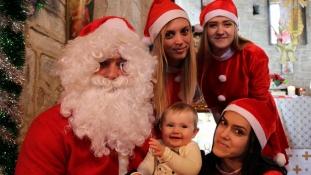 Moș Crăciun a trecut testul copiilor