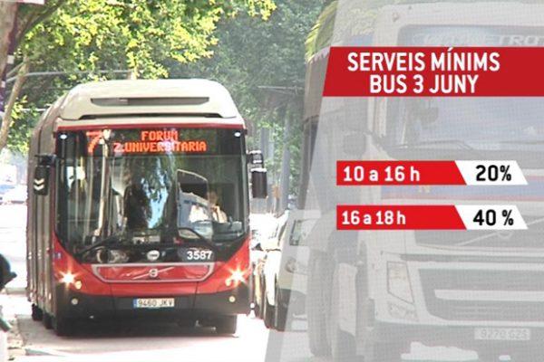 Grevă la Autobuze în Barcelona