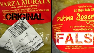 În atenția consumatorilor de varză murată din Spania: Cumpărați produse originale